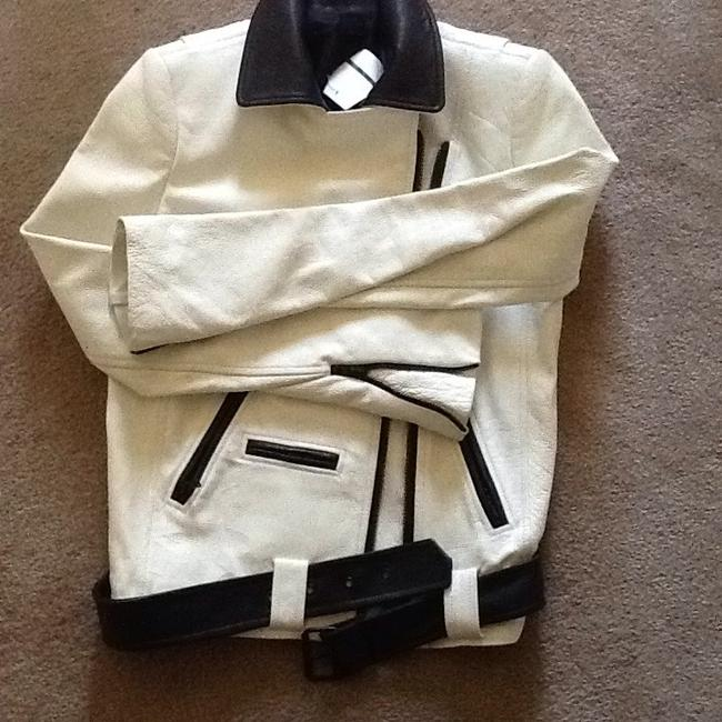 A.L.C. Off white Leather Jacket Image 7