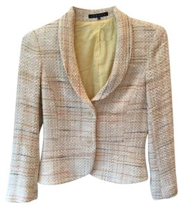Theory Multi, Beige, Orange, Grey Blazer
