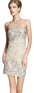Alice + Olivia Sparkle Glitter Mini Sequin Dress