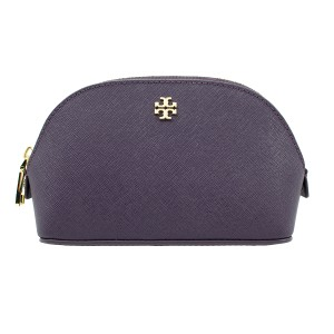 Tory Burch Small York Cosmetic Case - Purple Iris
