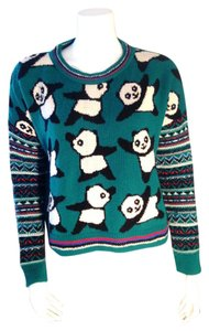 Coincidence & Chance Urban Outfitters Panda Novelty Size Xs Sweater
