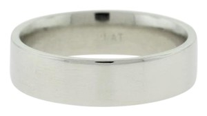 Other Polished Mens Wedding Band- Platinum Jewelry