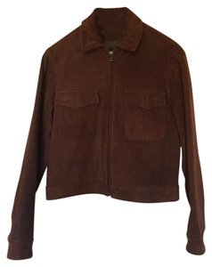 MLC Brown Suede Leather Jacket