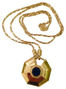 Louise et Cie 14k Faceted Stone Pendant