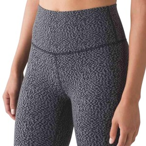Lululemon Nwt Lululemon High Times Pant Digie Pixie Black Pitch Gray Size 4