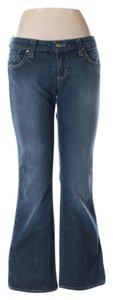 Ranahan Petite Short Boot Cut Jeans-Dark Rinse