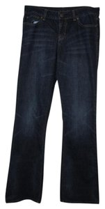 London Jean Denim Dark Wash Boot Cut Jeans-Medium Wash
