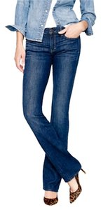 J.Crew Short Petite School Casual Boot Cut Jeans-Dark Rinse