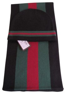 Gucci Gucci Hat And Scarf Set with Tags And Gift Box