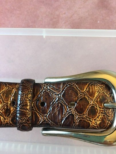 Jessica Simpson JESSICA SIMPSON NEVER WORN SHADES O BROWN BELT WITH GOLD BUCKLE Image 2