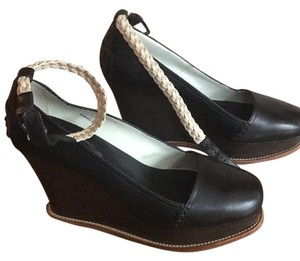 Tod's Dark brown with pale Wedges