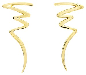 Tiffany & Co. Vintage 1983 Paloma Picasso Lightning Bolt Earrings