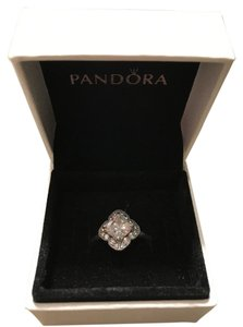PANDORA 25% off SALE-Pandora Crystalized Floral Fancy, Clear CZ in Pandora Box