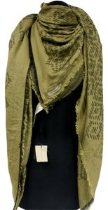 Burberry Burberry Luxury Large Wrap Shawl Prorsum Monogram Made In Italy