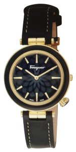 Salvatore Ferragamo Intreccio Goldtone Ferragamo Watch