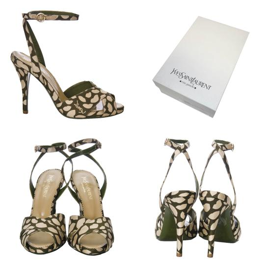 Saint Laurent Heels Ysl Yves Tom Ford Sandals Image 0
