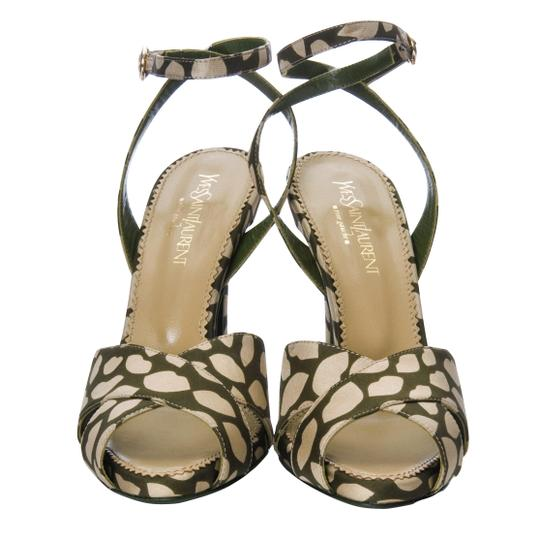 Saint Laurent Heels Ysl Yves Tom Ford Sandals Image 3