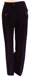 Just Cavalli Corduroy Made In Italy Dry-clean Only Relaxed Pants black
