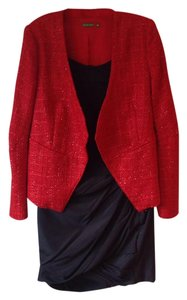 The Letter Sparkle Jacket Nwot Red Blazer