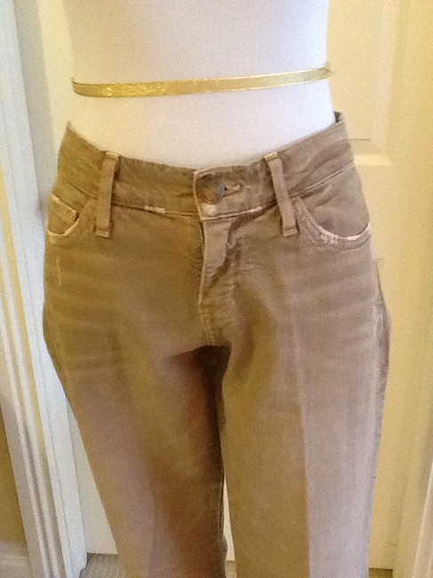 Current/Elliott Cotton Machine Washable Made In Usa Skinny Jeans-Light Wash Image 7