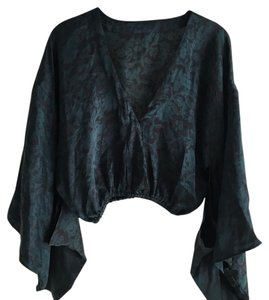Indah Top Green/Black