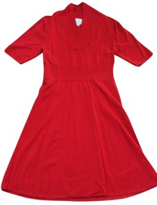 Karin Stevens Sweater Casual Wear Knee Length Dress