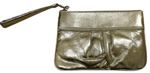 Express Small Wristlet in Silver