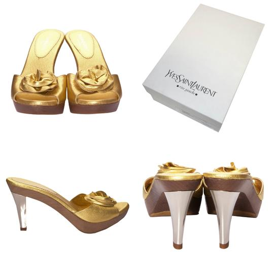 Preload https://img-static.tradesy.com/item/20224810/saint-laurent-priceless-new-ysl-tom-ford-era-nadja-rosette-gold-heels-box-mulesslides-size-eu-40-app-0-1-540-540.jpg