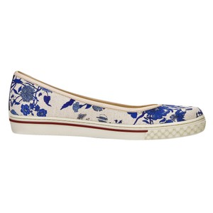 Gucci Flora Sneakers Oxford Flats