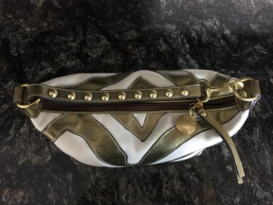Coach Leather Studded Baguette