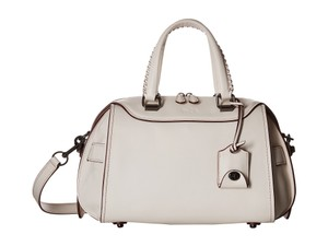 Coach Ace Satchel in Chalk