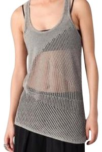Helmut Lang Top Speckled grey