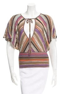 M Missoni Top multi violet