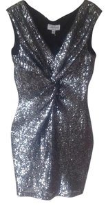Amy Matto Stretch Sequin Cocktail Dress