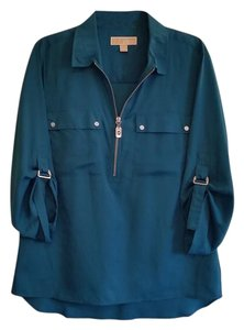 Michael Kors Work Designer Top Teal