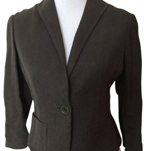 Max Studio Forest Green Blazer