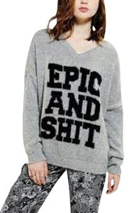 Urban Outfitters Sparkle And Fade Size Large Cozy Epic And S**t Sweater