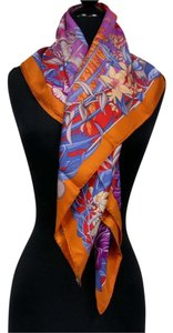 Hermès Hermes Rare Exotic Flamingo Party Vivid Bright Scarf Shawl