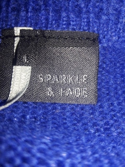 Urban Outfitters Sparkle Fade Size Large Homie Sweater Image 1