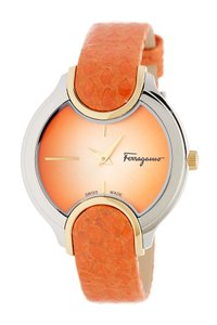 Salvatore Ferragamo Salvatore Ferragamo Signature Embossed Quartz Watch