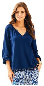 Lilly Pulitzer Linzy Navy Tunic