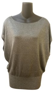 Alice + Olivia Evening Sleeveless Party Sparkle Knit Sweater