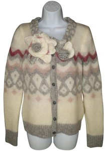 Anthropologie Sleeping On Snow Mohair Cardigan
