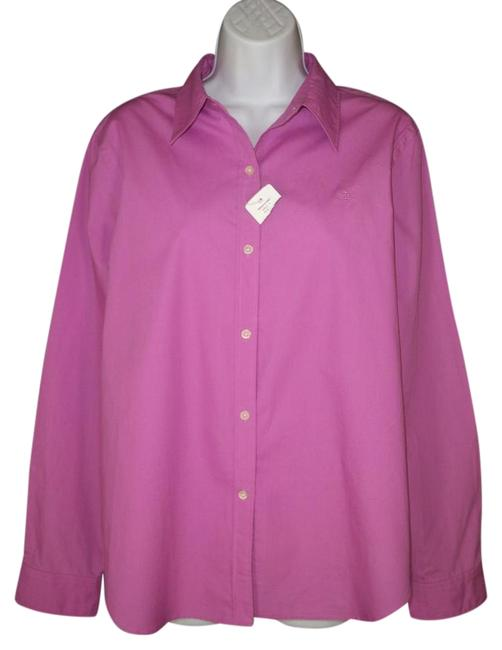 4246b6ed good Lauren Ralph Lauren Hyacinth Button Down Shirt - kdb.co.ke