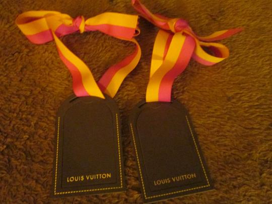 Louis Vuitton Louis Vuitton Luggage Tag & Ribbon Christmas Holiday Ornament. Image 4