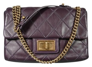 Chanel New Distressed Gold Made In Italy Shoulder Bag