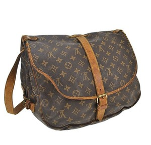 Louis Vuitton Shoulder Brown Messenger Bag