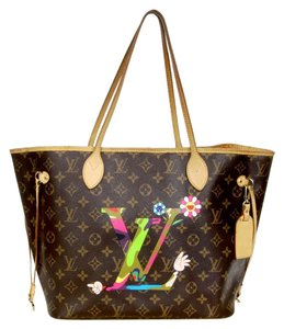 Louis Vuitton Sprouse Roses Graffiti Palm Tote in Monogram