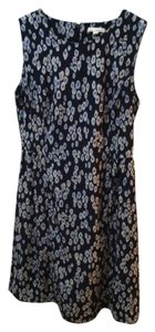 Gap short dress Navy Print Sleeveless Spring on Tradesy