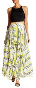 TOV Holy Maxi Maxi Skirt yellow